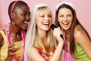 Babyshower spelletje karaoke