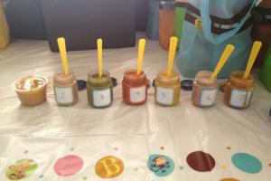 babyshower spelletje babyvoeding proeven