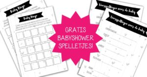 babyshower spelletjes